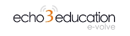 Echo3Education Logo