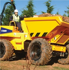 Forward Tipping Dumper - link to CPCS course and test dates