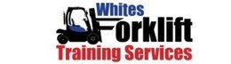 Whites forklift training logo