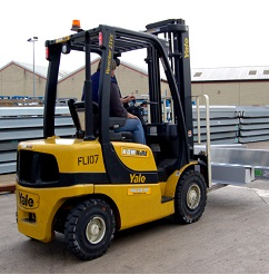 Counterbalance forklift training - link to CPCS course and test dates